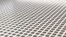 Beschaffenheit von grauen Quadraten und weißen von Linien gesehen in der Diagonale Lizenzfreie Stockfotografie