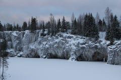 Beschaffenheit von Karelien Lizenzfreie Stockfotografie