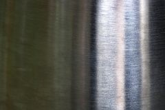 Beschaffenheit von Kratzern auf altes Metallstahlboden, abstrakter Hintergrund stockfoto