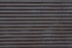 Beschaffenheit von Metallfensterläden Lizenzfreies Stockbild