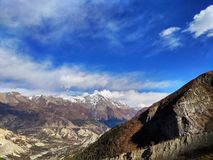 Beschaffenheit von Nepal ist faszinierend schön lizenzfreie stockfotos