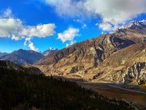 Beschaffenheit von Nepal ist faszinierend schön lizenzfreie stockbilder