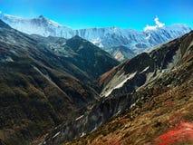 Beschaffenheit von Nepal ist faszinierend schön lizenzfreie stockfotografie