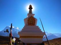 Beschaffenheit von Nepal ist faszinierend schön stockfotos