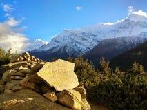 Beschaffenheit von Nepal ist faszinierend schön stockfotografie