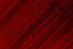 Beschaffenheit von roten hölzernen Stangen für Hintergrund lizenzfreies stockbild
