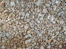 Beschaffenheit von Steinen im Freien Lizenzfreies Stockfoto