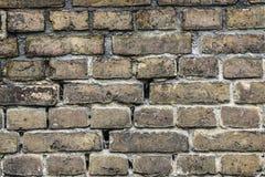 Beschaffenheit von Ziegelsteinen, vom alten Haus Stockfoto