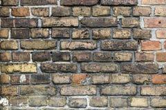 Beschaffenheit von Ziegelsteinen, vom alten Haus Lizenzfreie Stockfotos
