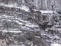 Beschaffenheiten der Kohle Stockbild