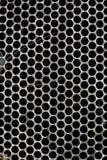 Beschaffenheiten - metallisches _ Rasterfeld Stockfotografie