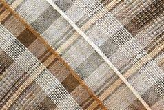 Beschaffenheiten - Plaid-Brown-Hintergrund Stockbilder