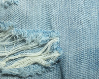 Beschaffenheiten von Jeans Lizenzfreies Stockbild