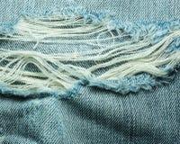 Beschaffenheiten von Jeans Lizenzfreie Stockfotos