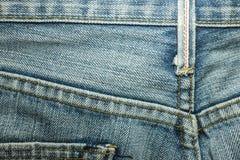 Beschaffenheiten von Jeans Stockbilder