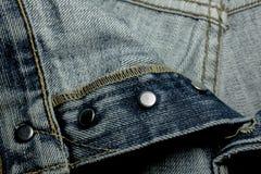 Beschaffenheiten von Jeans Lizenzfreies Stockfoto