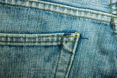 Beschaffenheiten von Jeans Stockbild