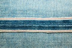 Beschaffenheiten von Jeans Stockfotografie