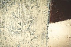 Beschaffenheitsölgemälde Hintergrund der abstrakten Kunst Schmieröl auf Segeltuch Raue Pinselstriche der Farbe Stockbild