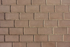 Beschaffenheits-Backsteinmauer Lizenzfreies Stockfoto
