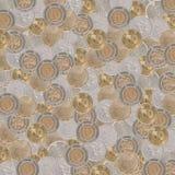 Beschaffenheits-Hong Kong-Münzen Lizenzfreies Stockfoto