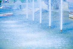 Beschaffenheits-Stadtbrunnen, Dita-intere Lizenzfreies Stockfoto