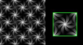 Beschaffenheitsblumen von Dunkelheit Stockbild