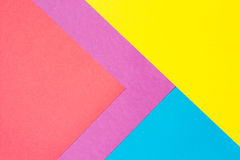 Beschaffenheitshintergrund des farbigen Papiers Lizenzfreies Stockfoto
