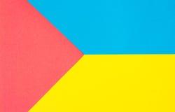 Beschaffenheitshintergrund des farbigen Papiers Lizenzfreie Stockbilder