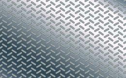 Beschaffenheitshintergrundmuster-Ellipsenart Oval auf dem Polierblatt des Chroms Stöße des Stahlbodenmetalls High-Techer Entwurf stock abbildung