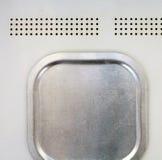 Beschaffenheitsmetall auf einem Metall Lizenzfreie Stockfotografie