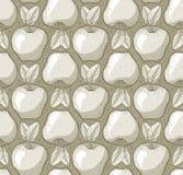 Beschaffenheitsmuster mit Äpfeln Lizenzfreie Stockbilder