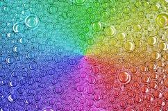 Beschaffenheitsregenbogenblasen Lizenzfreie Stockbilder