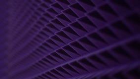 Beschaffenheitsschalldämpfung im Tonstudio stock footage