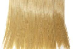 Beschaffenheitszusammenfassungs-Modehintergrund des Haares blonder Lizenzfreies Stockbild