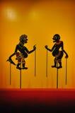 Beschatten Sie Marionette (Nang Talung) von Thailand. Lizenzfreie Stockbilder