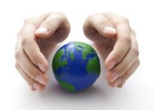 Bescherm de Aarde royalty-vrije stock foto
