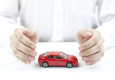 Bescherm uw auto Royalty-vrije Stock Afbeeldingen