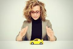 Bescherm uw auto Royalty-vrije Stock Foto's