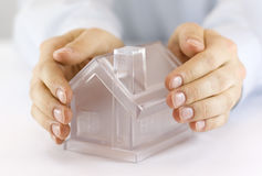 Bescherm Uw Huis Stock Fotografie