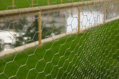 Beschermd gazon en kanaal stock foto's