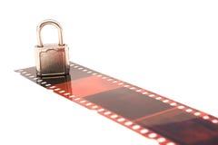 Beschermde film Stock Fotografie