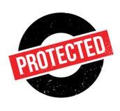 Beschermde rubberzegel Royalty-vrije Stock Foto's