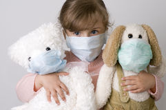 Beschermend masker stock foto's