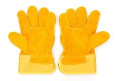 Beschermende handschoenen Stock Afbeelding