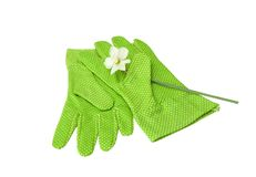 Beschermende handschoenen Royalty-vrije Stock Afbeelding