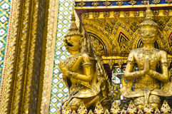 Beschermer in Emerald Buddha Temple Royalty-vrije Stock Foto's