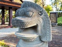 Beschermer Lion Statue stock fotografie