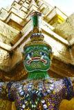 Beschermer van een Boeddhistische tempel Stock Fotografie