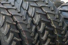 Beschermer van een tractorwiel Stock Afbeelding